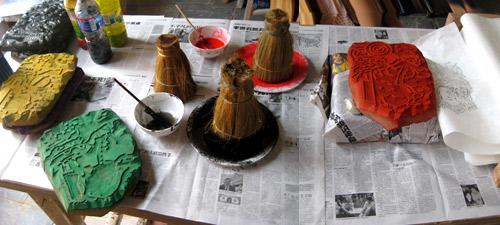 Chinesischer Küchengott ~ eva pietzcker chinesischer holzschnitt